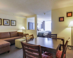 executive two double beds suite